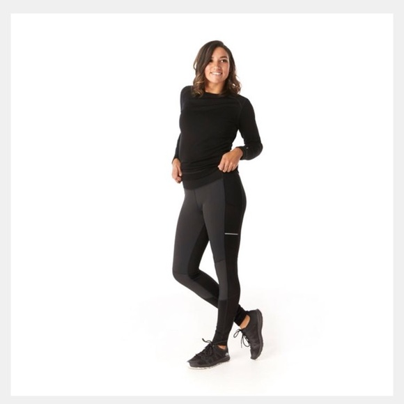 Smartwool Sport Fleece Wind Tight Women/'s Merino Wool Performance Bottoms